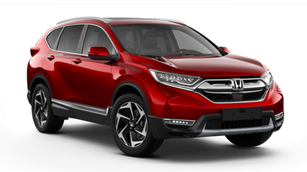 Honda CR-V illustration til modelsammenligning.