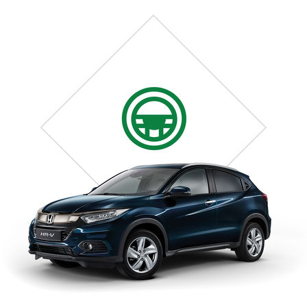Honda HR-V illustration til brochure.